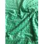 Ткань плюшевая  Minky Dots зеленый (пупырышки)