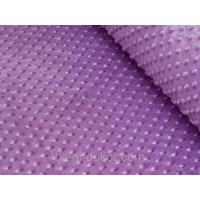 ПЛЮШ МИНКИ Пупырки,цвет сиреневый,плотность 350 г\м2,ширина 160 см